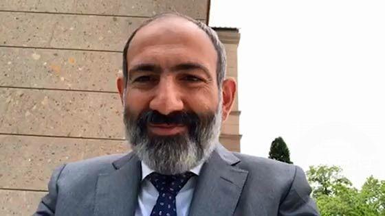 Varchapeti arandznatun - Nikol Pashinyan