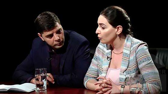Hayelu araj - Hayk Hovhannisyan, Tehmina Vardanyan
