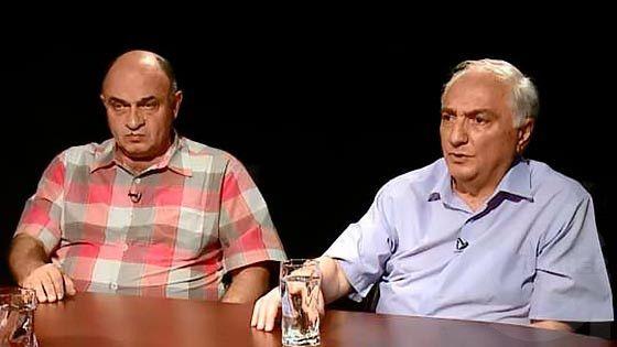 Hayelu araj - Aghasi Enoqyan, Aram Sargsyan